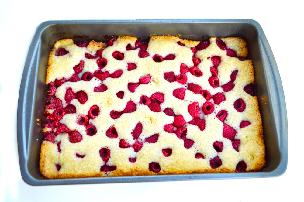 Rasberry Cobbler recipe