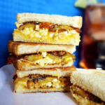 Sweet plantain with egg sanwich 3